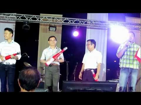 2012 Year End Countdown Party By Tampines GRC 31-12-2012 @ Tampines Stadium跨年倒數
