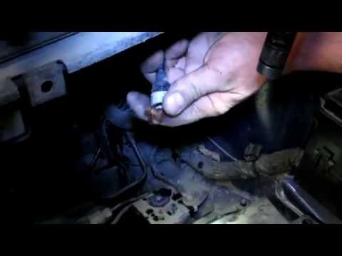 Как поменять главный цилиндр сцепления
