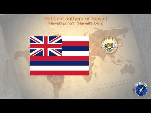 Hawaii National Anthem
