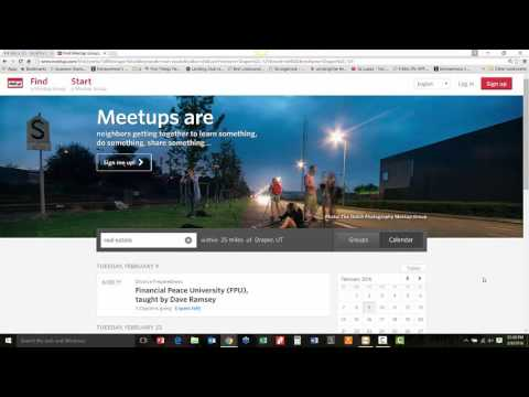 How To Generate Referrals With Meetup.com For Unsecured Lines of Credit