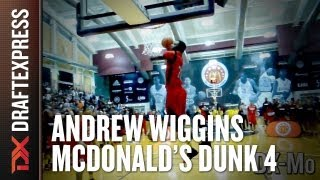 Andrew Wiggins - 2013 McDonalds All American Dunk Contest - Dunk 4