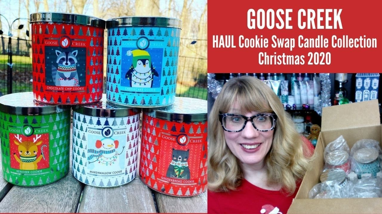Goose For Christmas 2020 GOOSE CREEK HAUL Cookie Swap Candle Collection Christmas 2020