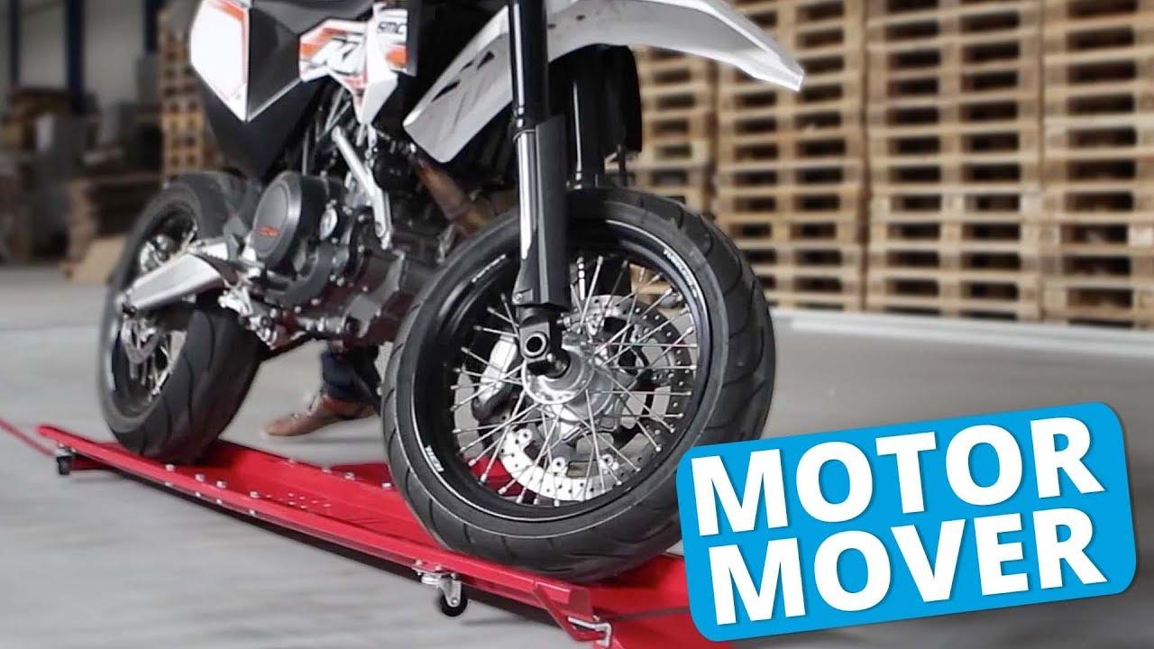 Motormover 220 Cm Eenvoudig Uw Motor Verplaatsen Youtube
