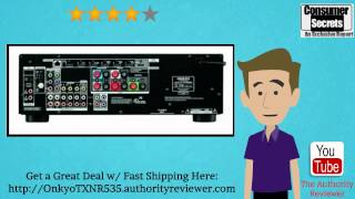 review sale onkyo tx nr535 5 2 channel network a v receiver