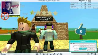 THEME PARK TYCOON 2 / WILL BUILD IN ROBLOX A GIANT AMUSEMENT PARK/ WILLTHESHOOTER