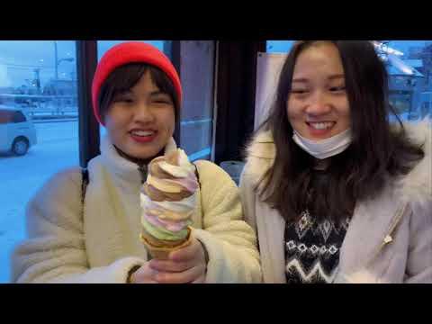 【旅行】Vlog#2|北海道~友達たちとの面白い旅行体験