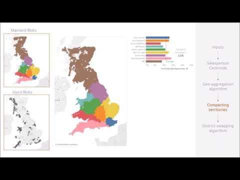 Equitable Sales Territories