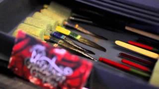 Flake & Flames // Kustom Kulture Film - Testing the Gear