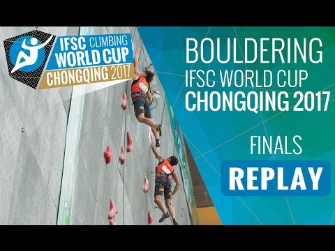 IFSC Climbing World Cup Chongqing 2017 - Bouldering - Finals - Men/Women