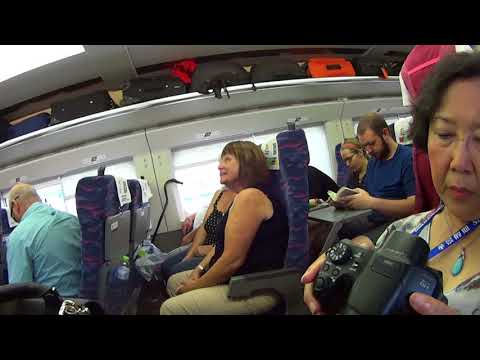Trip High Speed Train Wuhan - Shanghai 09-13-2017