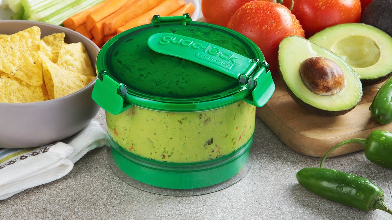 Guac Lock Guacamole Preservation Container Youtube