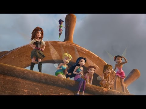 Kleurplaten Tinkerbell Disney.Tinkerbell En De Piraten Officiele Disney Trailer Dutch Hd Nl