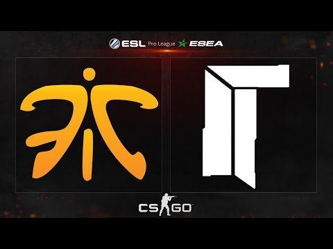 CS:GO - Fnatic vs. Titan [Cbble] - ESL ESEA Pro League Dubai Invitational - Group B