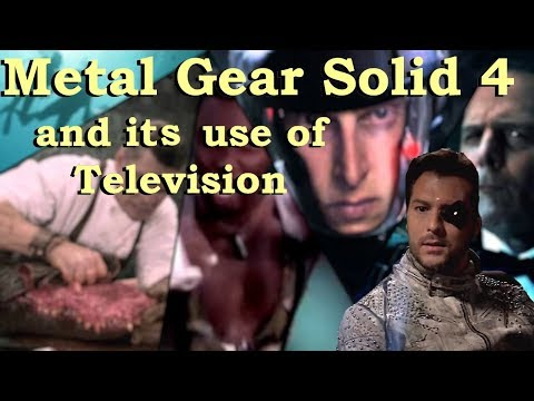 Metal Gear Solid 4 and its use of Television