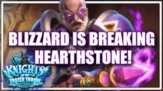 How Blizzard is Breaking Hearthstone and Why it's Good!