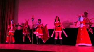 [WinterCon 2014] Eternity as Snowdown skins (League of Legends)
