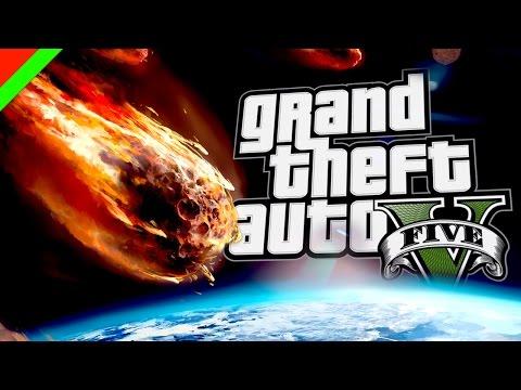 มหาวิบัติวันอุกกาบาตล้างโลก - Grand Theft Auto V Meteor Mod (GTA V,ตลก,ฮาๆ) thumbnail