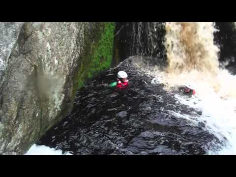 Canyoning at Wilderness, Garden Route, South Africa