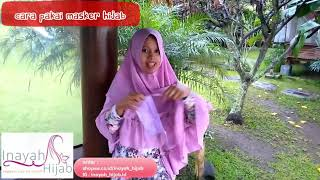 Masker hijab adalah kain tali panjang dengan model sebelah melingkar dan ikat. selain berfungsi untuk melindungi pernafasan ...