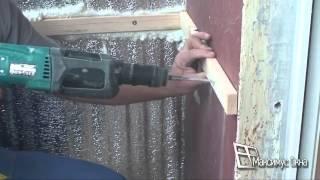видео Утеплить балкон своими руками