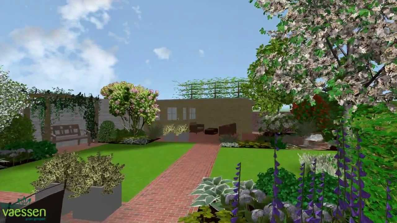 Herman vaessen 3d tuinontwerp particuliere tuin youtube - Outs zwembad in de tuin ...