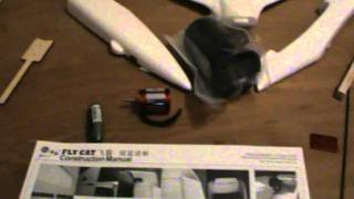 HobbyKing BUILD VIDEO - FlyCat EDF Foam Jet VERY FAST (kit only)