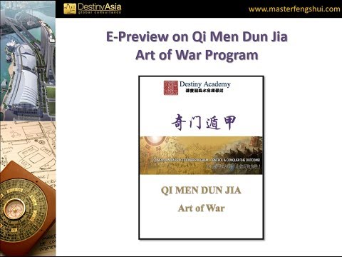 2018 Online Preview for Qi Men Dun Jia Art of War Program