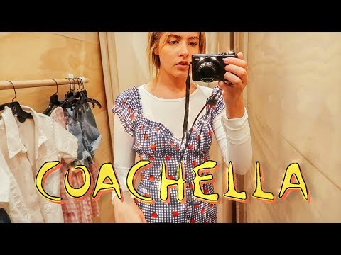 PREPARING FOR COACHELLA (my first time!)