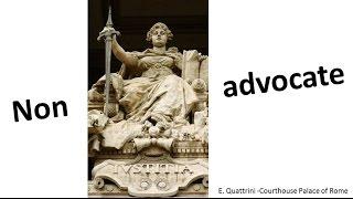 The non-advocate reputation (M. Pagani)