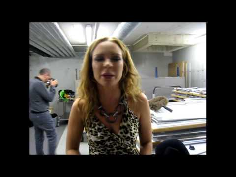 OGAE Luxembourg EuroGalanight 2013: Interview with Anna Sahlene (Estonia 2002)