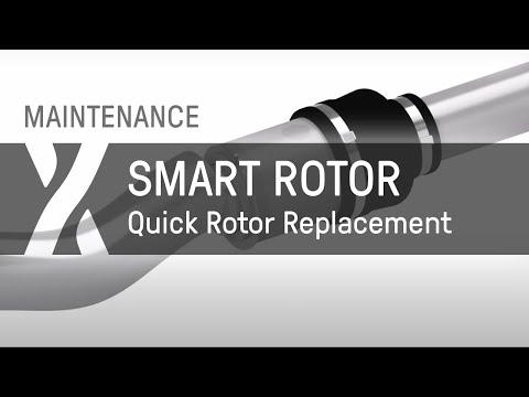 Maintenance: Smart Rotor - Schneller Austausch des Rotors