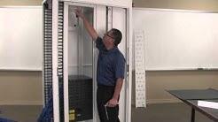 CPI N-Series TeraFrame® Gen 3 Network Cabinet Internal Duct Installation