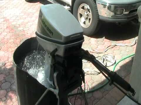 how to clean outboard carburetor without removing