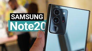 Samsung Galaxy Note20 (Ultra) oficiálně: superrychlé ostření a sexy bronzový odstín