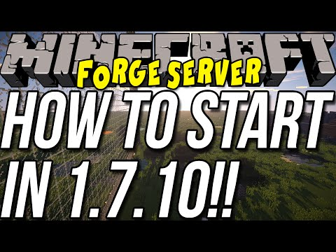 How To Start Forge Server In Minecraft