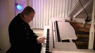 Peter Vamos Cold Cucumber, Yogurt And Dill Soup & Cucumber Salad And Plays Piano