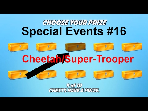 BikeRace: Special Events #16 Cheetah & Super Trooper!