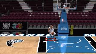 NBA 2k10 - Vince Carter Reverse 360 Windmill Dunk