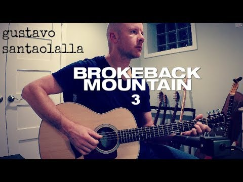 Gustavo Santaolalla: Brokeback Mountain 3 + TAB mp3