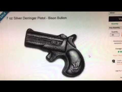 ALERT:  Bison Bullion Pistol Cheap