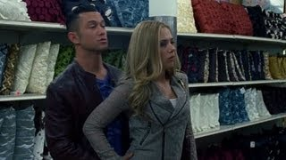 Funny Don Jon Movie Clip - Scarlett Johansson and Joseph Gordon Levitt Fight Over Mop!