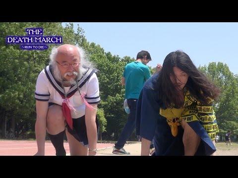 【画鋲レース】ダパンピ! #2 セーラー服おじさんと50M走! - the run to die -【DA-PUMPI】