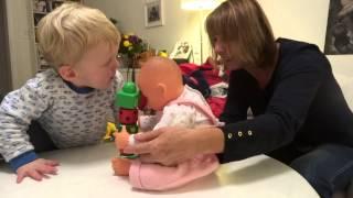 2013 Octobre - Louis et sa poupée animée