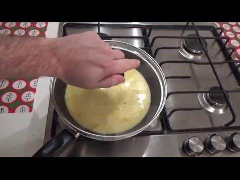 Яичный паровой омлет