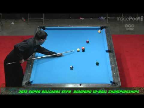 Corey Deuel VS Warren Kiamco 2013 Super Billiards Expo