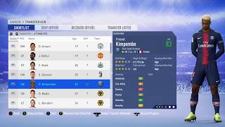 FIFA 19 AMAZING NEW FACES ADDED Update  November - Kimpembe, Joao Moutinho Fulham Wolverhampton