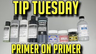Best Lacquer And Acrylic Primers I Use Stynylrez - Vallejo - Mr Surfacer - Alclad
