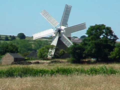 Heage Windmill - working flour mill