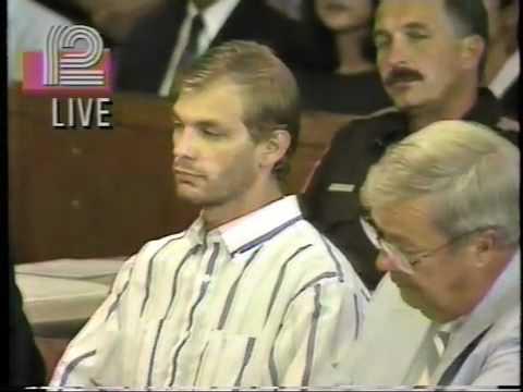 Jeffrey Dahmer First Court Appearance (Original Newscast Footage)