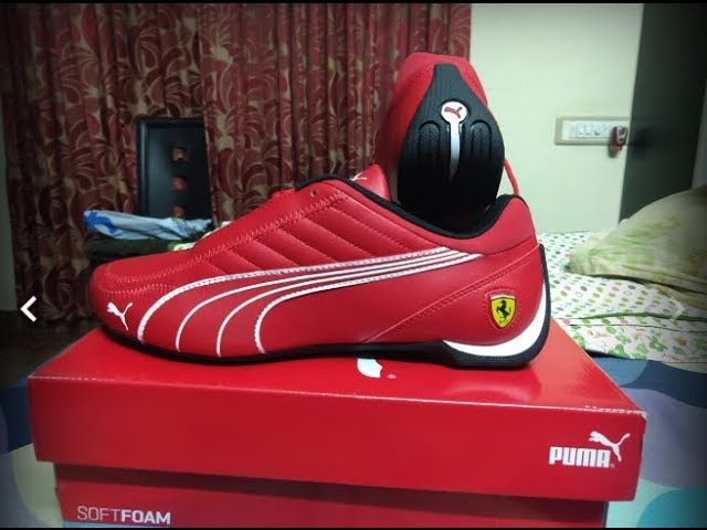 Puma Sf Future Kart Cat Running Shoes By Ferrari Trending India Products Youtube